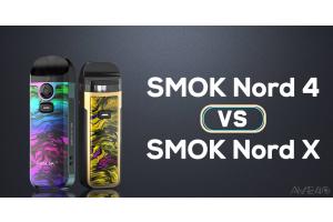 smok nord 4 VS smok nord x