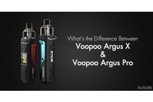 voopoo argus x and voopoo argus pro