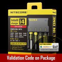 Nitecore Intellicharger i4 Universal Charger for Li-ion/NiMH Battery - EU Plug