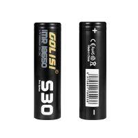 Golisi S30 IMR 18650 Battery 35A 3000mAh 2pcs/Pack