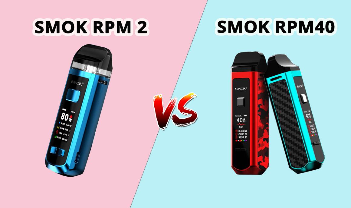 SMOK RPM 2 VS SMOK RPM40