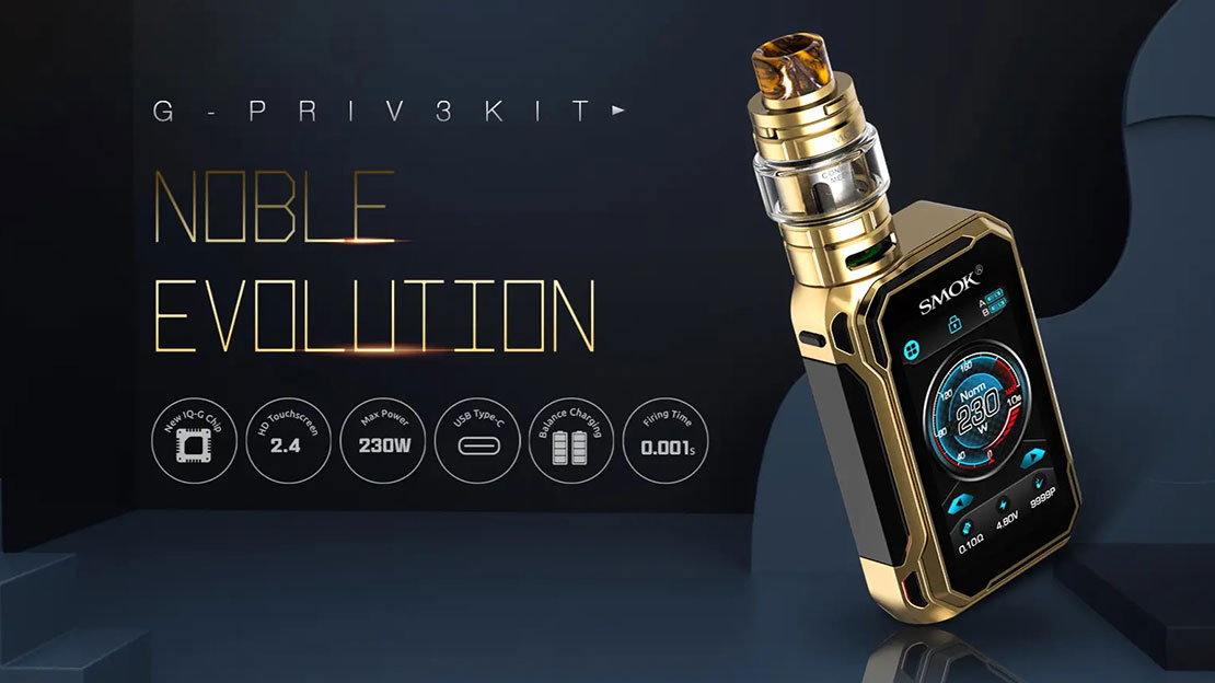 Smok G Priv 3 III Kit Preview | Get It Restarted