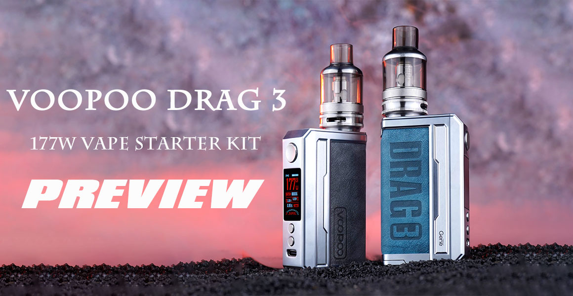 Voopoo Drag 3 177W TC Vape Starter Kit