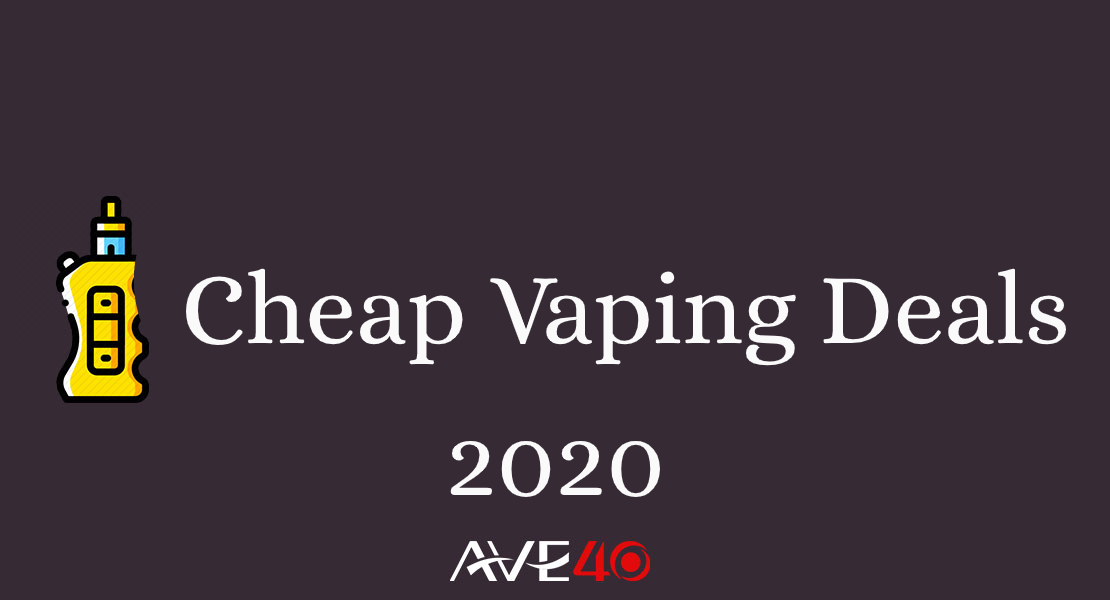 Cheap Vaping Deals 2020 - Cheap Pod Kits And Cheaps Tanks