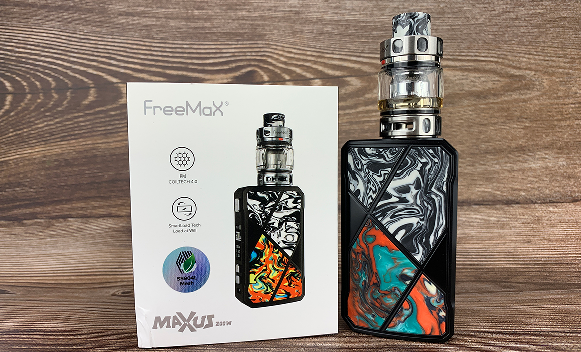 Freemax Maxus 200W Kit Review | Flavors Dance Around