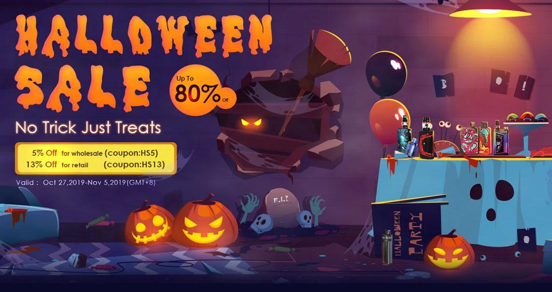 Halloween Vape Sale 2019