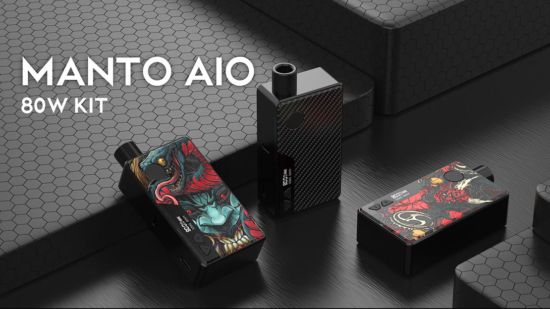 Rincoe Manto AIO Kit Preview | 80w Output And More