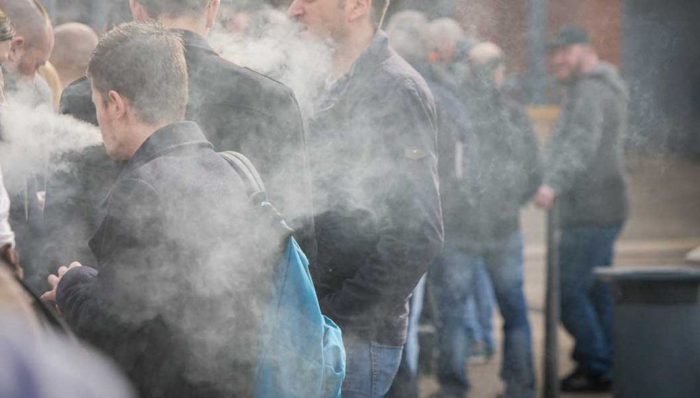 Air Sampling confirms secondhand vapor is harmless