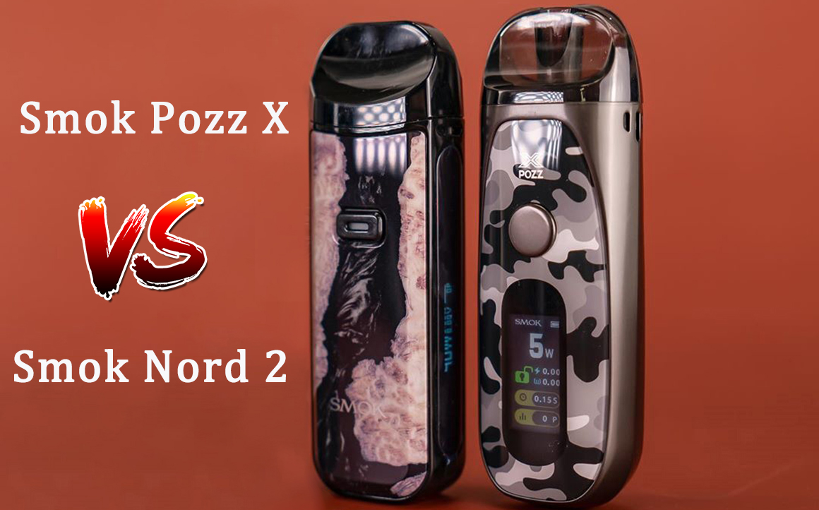 What's the Difference Between Smok Pozz X and Smok Nord 2?
