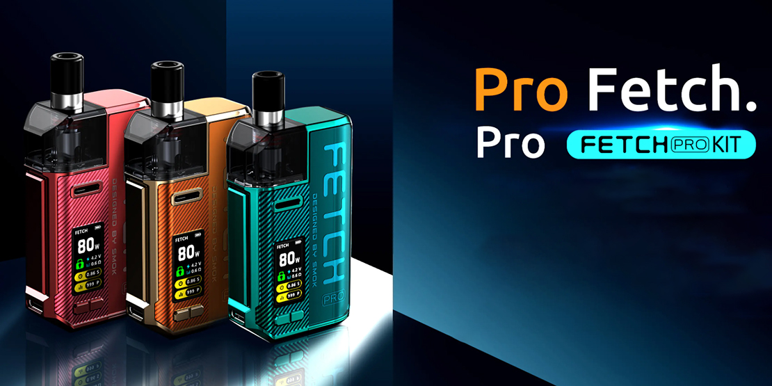 Smok Fetch Pro Kit Preview | Still Exquisite, More Powerful