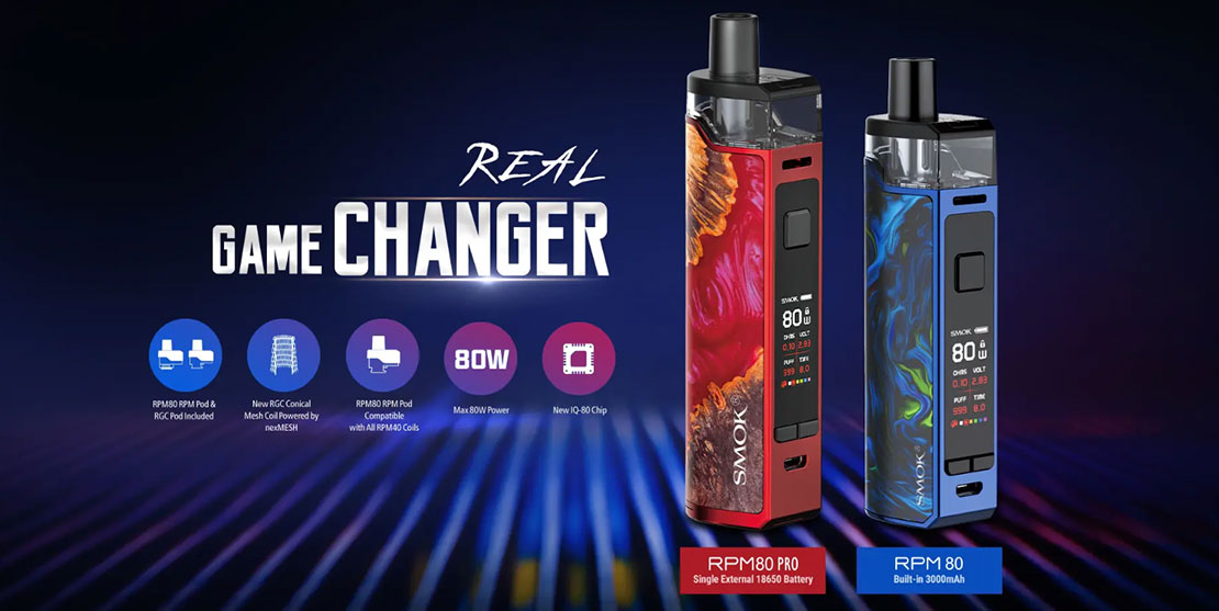 Smok RPM80 Kit Preview | Make Power Powerful