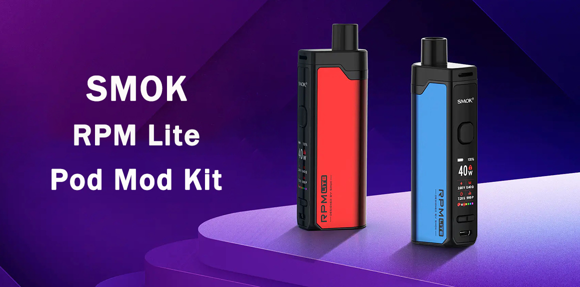 Smok RPM LIte Kit Preview | Power In Simplicity