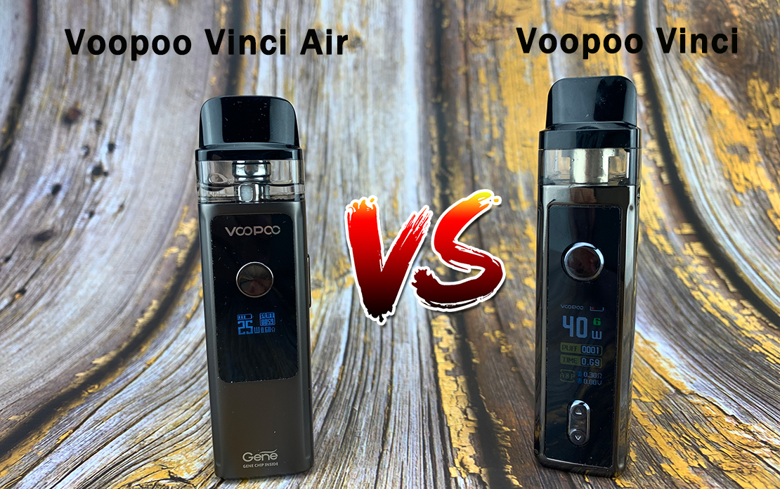 What's the Difference Between Voopoo Vinci Air and Voopoo Vinci