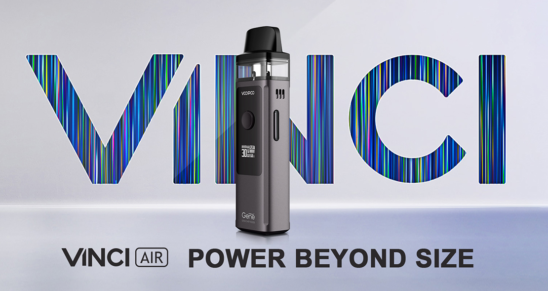 Voopoo Vinci Air Kit Preview | Make Power Lighter