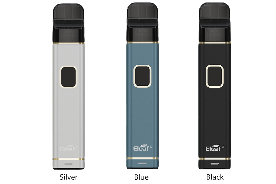 Colors Available of Eleaf iTap Pod Starter Kit 800mAh