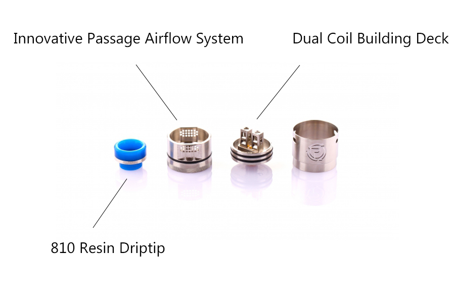 Features of Hellvape Passage RDA