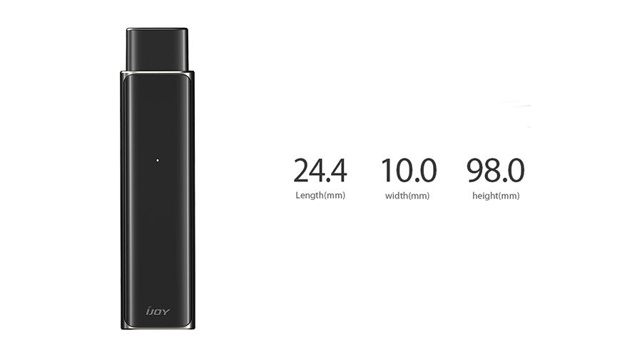 Parameters of IJOY LUNA Pod System Kit 350mAh