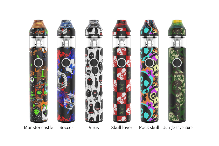 Colors Available of OBS KFB2 AIO Starter Kit 1500mAh