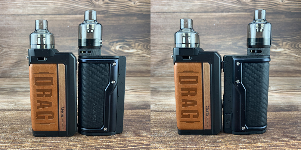 voopoo drag max and argus gt